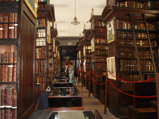 Interieur Marsh's Library Dublin