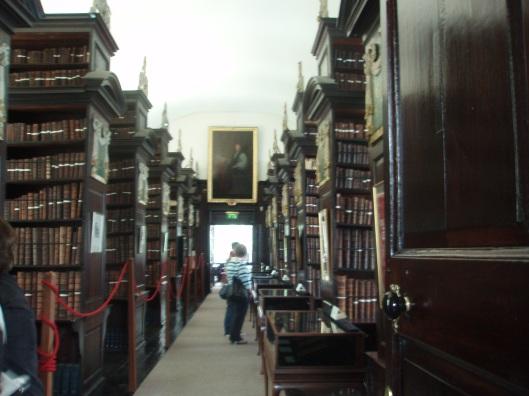 Interieur Marsh's Library Dublin