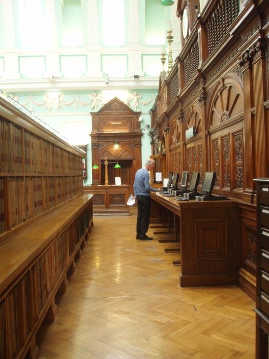 Hans Krol in de Nationale Bibliotheek van Ierland, 8 augustus 2013