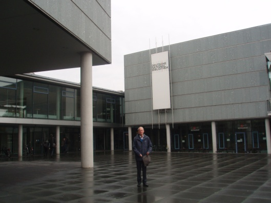 Hans Krol voor de Deutsche National Bibliothek in Frankfurt am Main in 2013