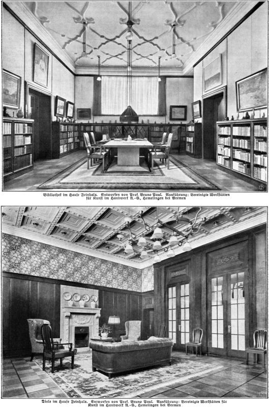 Bibliotheek in Haus Feinhals, Keulen