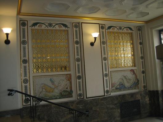 Interieur hal Deutsche Bücherei (Nationalbibliothek), Leipzig