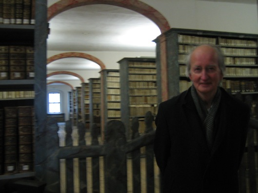 Hans Krol voor de 'Kulissenbibliothek' der Franckesche Stiftung in Halle/Saale