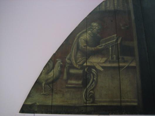Linkerdeel van paneel Librije Gouda