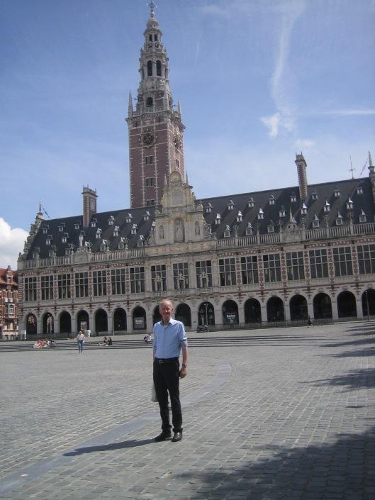 Hans Krol voor de universiteitsbibliotheek van Leuven, 11-8-2015