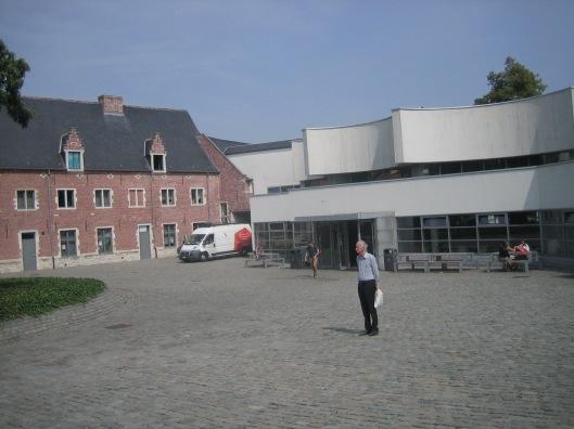 Hans Krol voor Arenberg campusbibliotheek in Leuven, 12-8-2015