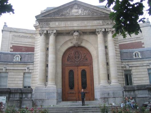 Hans Krol voor de vm. universiteitsbibliotheek van Lille