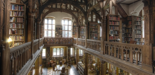 Interieur National Library of Wales, Aberythwyth