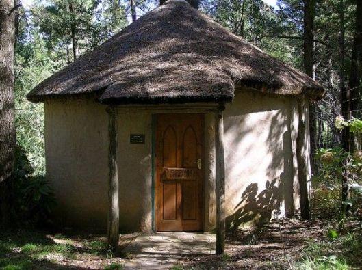 De Hogsback bibliotheek in de Oostelijke Kaapprovincie, Zuid-Afrika