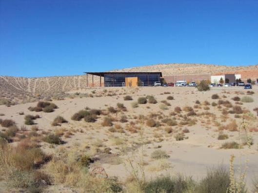 Woestijnbibliotheek 'Loma Colorado' bij Albuquerque, Nieuw Mexico