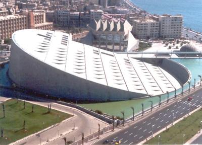 Biblioteca Alexandrina, Alexandrië, Egypte