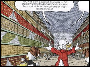 Uit: Donald Duck, nummer 63: de reisavonturen van oom Dagbobert