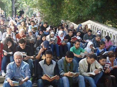15 juni 2013 is voor de tweede maal een succesvolle manifestatie in een park van de stad Algiers in Algerije georganiseerd om het lezen van boeken te stimuleren