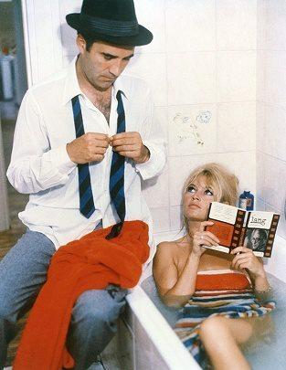 Brigitte Bardot in een film van Godot, 1963