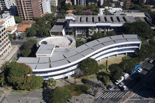 Luiz de Bessa openbare bibliotheek in Belo Horizonte, Brazilië