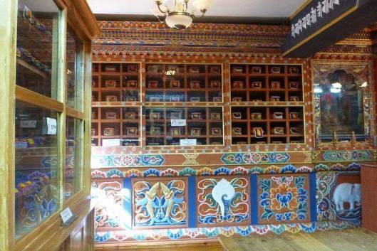 Nationale Bibliotheek van Bhutan (Dany Baillet)