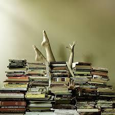 Verdrinken in boekenbezit
