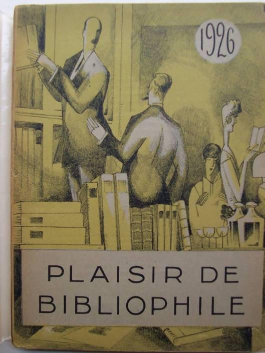 'Plaisir de Bibliophile', 1926 (Improblables Libraries, Improbales Bibliothèques)