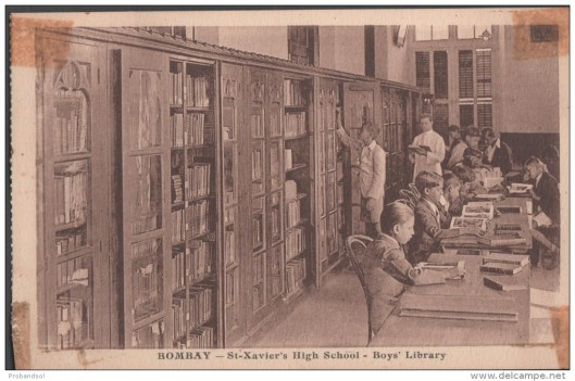 St. Xavier's High School Library, Bombay, India