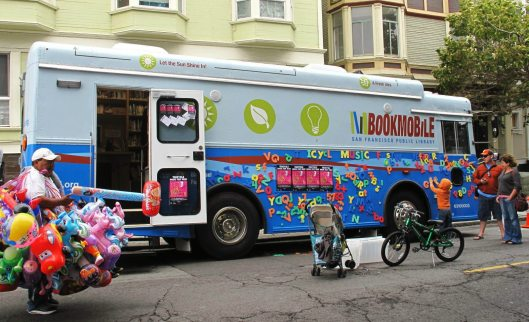 Bookmobile San Francisco (Gerard Koskovich)