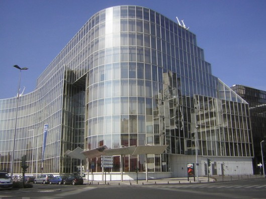 Gemeentelijke openbare bibliotheek van Bordeaux, Frankrijk