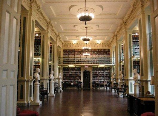 Boston Atheneaum Library, Boston, Massachusetts, USA