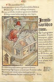 Gravure in 'Das Narrenschiff' van Sebastian Brant, 1494-1498.
