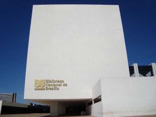 Nieuwe Biblioteca Nacional, in hoofdstad Brasilia