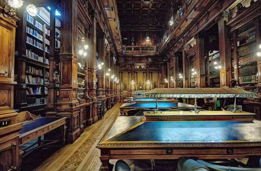 Interieur van de bibliotheek van het Nationaal Congres van Argentinië in Buenos Aires (Pao Radeljak)