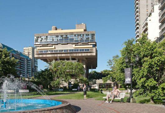 Biblioteca Nacional Argentina in Buenos Aires