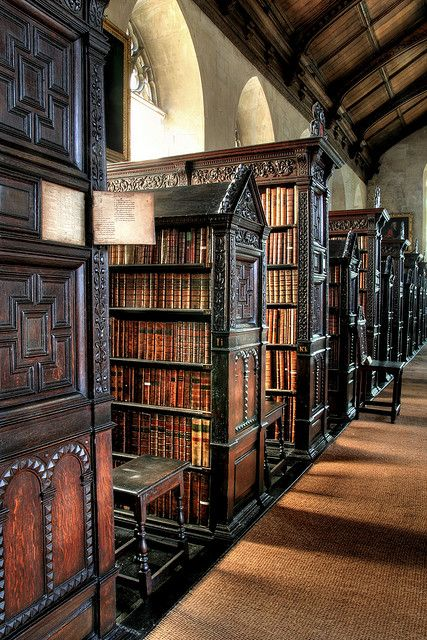 St.Johns College Library in Cambridge