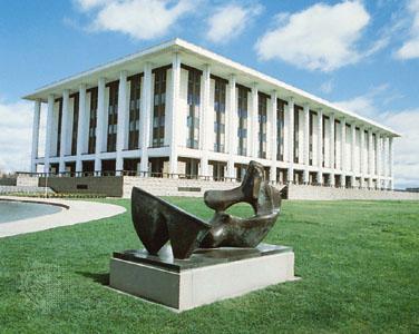 Nationale Bibliotheek van Australië in Canberra