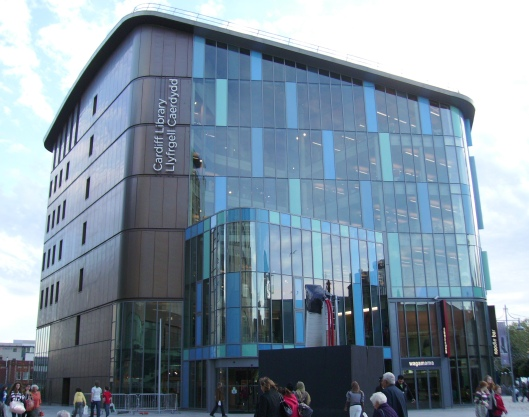 New Cardiff Central Public Library