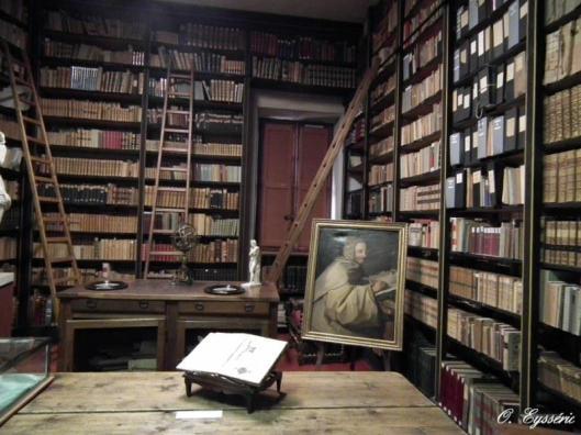 Bibliothèque Inguimbertine in Carpentras, waar schrijver George Bataille in 1949 conservator werd (Ipomée)