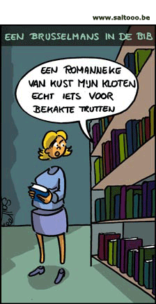 Cartoon Brusselmans: Een boek van Herman Brusselmans in de bibliotheek