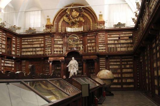 Interieur Biblioteca Casanatense, Roma