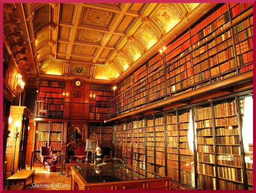 Kasteelbibliotheek Chantill;y