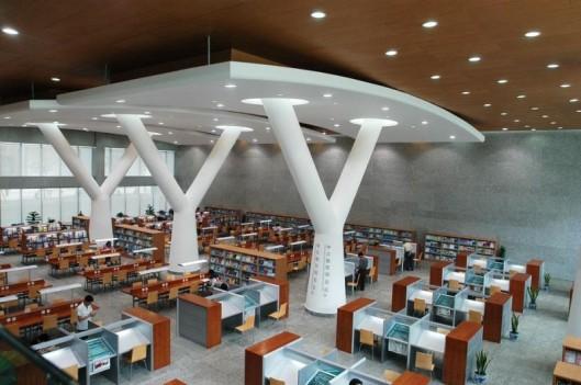 Chongqing library, China (photo Perkins Eastman)