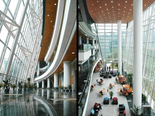 Interior Chongqing library, China (photo Perkins Eastman)