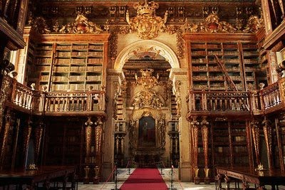 Universiteitsbibliotheek van Coimbra, Portugal