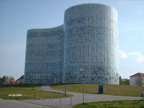 Technische Universiteitsbibliotheek in Cottbus, Duitsland