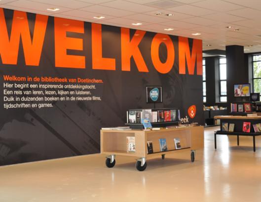 Interieurfoto openbare bibliotheek Doetinchem