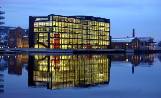 Openbare bibliotheek Drammen, Noorwegen