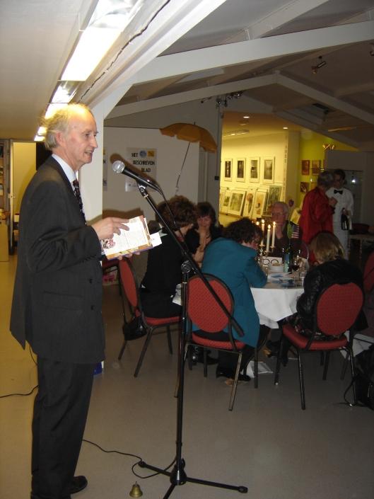 Hans Krol als spreker in 'de Componist', Haarlem (2006)