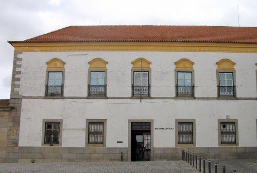 Biblioteca di Evora, Portugal