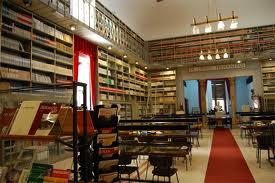 Studiezaal van Biblioteca Fardelliana.Trapani