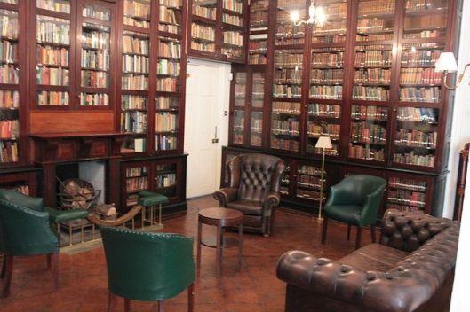 Interieur Garrison Library Gibraltar