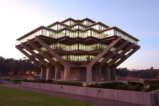 Geisel library, University of California, San Diego