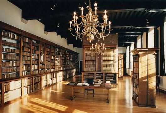Bibliotheek in het Pand, Gent: bibliotheek van de Dominicanen (Bibliotheca Dominicana)
