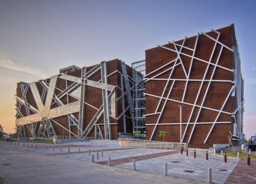 Nieuw bibliotheekgebouw 'Juan Jose Arreola' in Guadelajara, Mexico